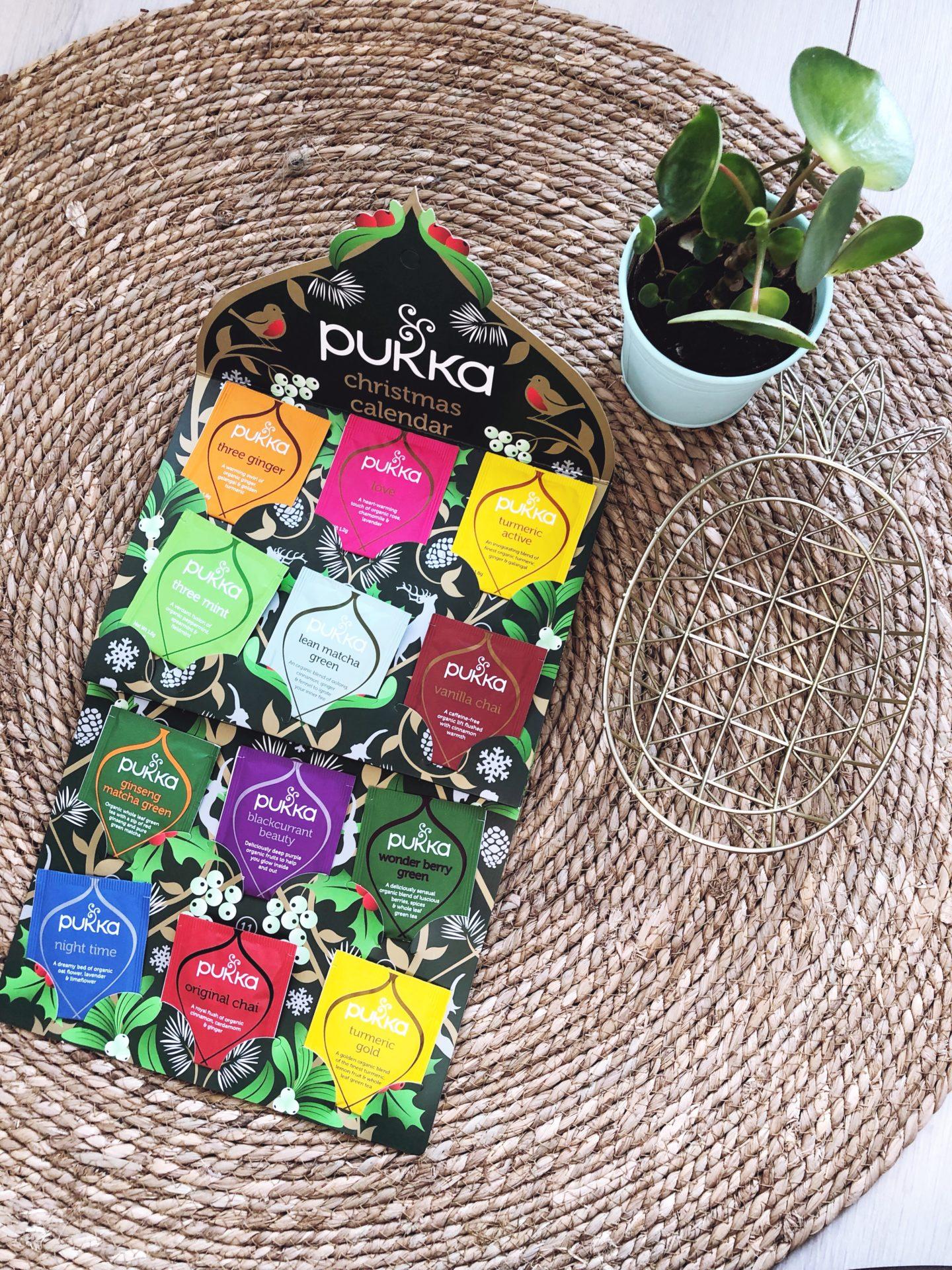 calendrier de l'avent pukka herbs