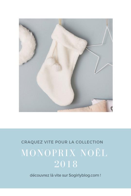 monoprix noel 2018