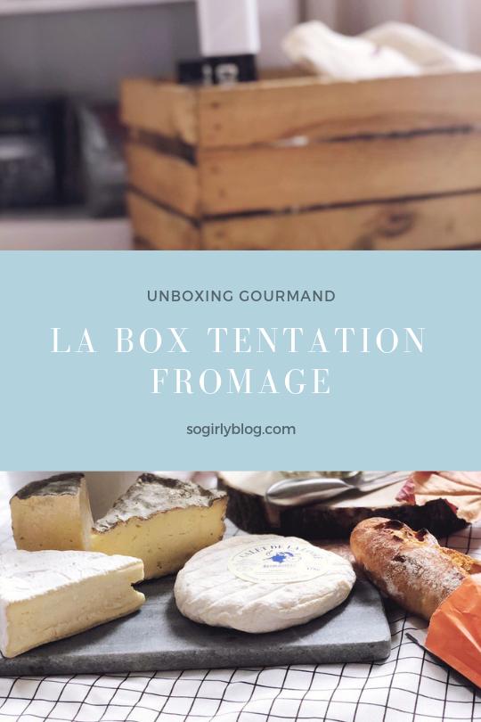 La box Tentation fromage