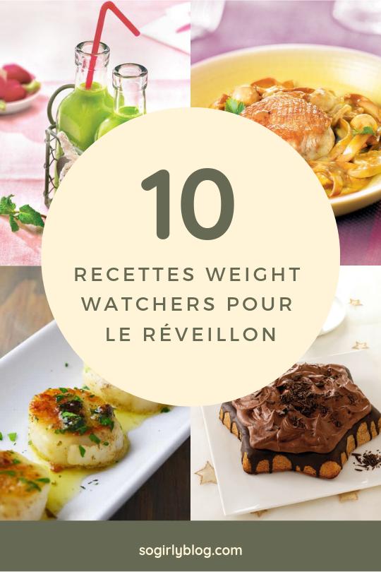 recettes weight watchers repas de fête