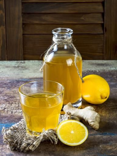 jus de gingembre et citron