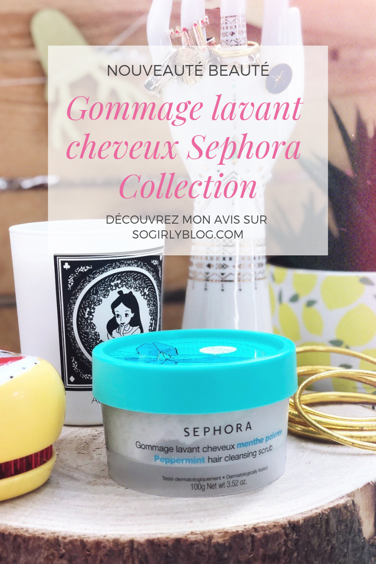 Gommage lavant cheveux Sephora Collection