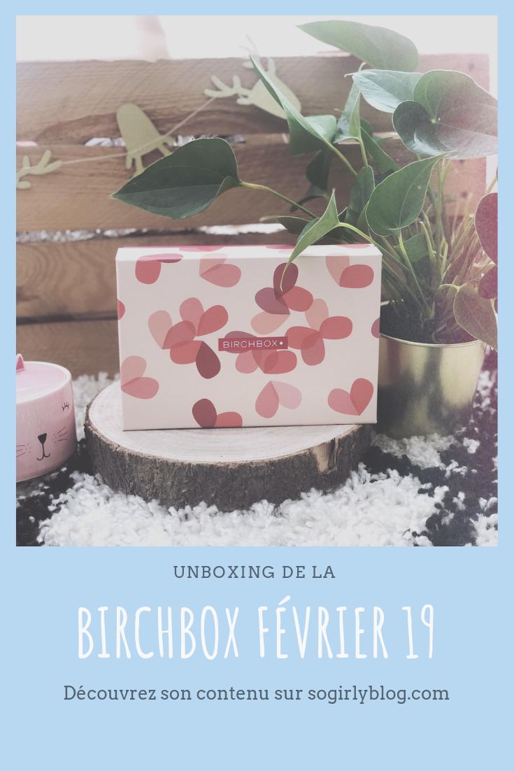 birchbox février 2019