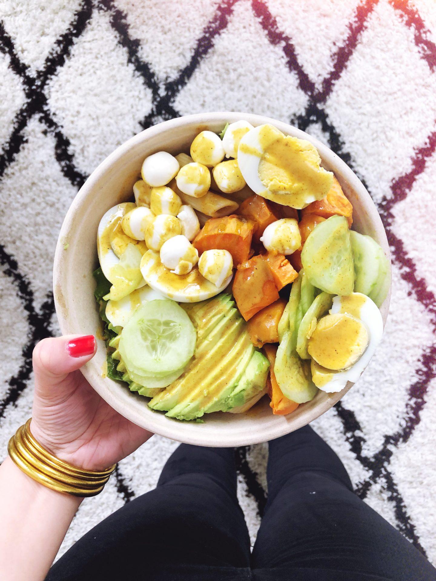 salade végétarienne garden café la rochelle