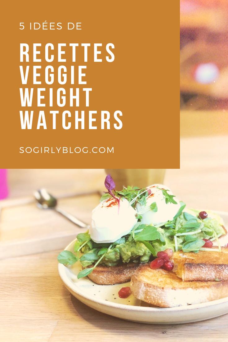 Recettes veggie Weight Watchers