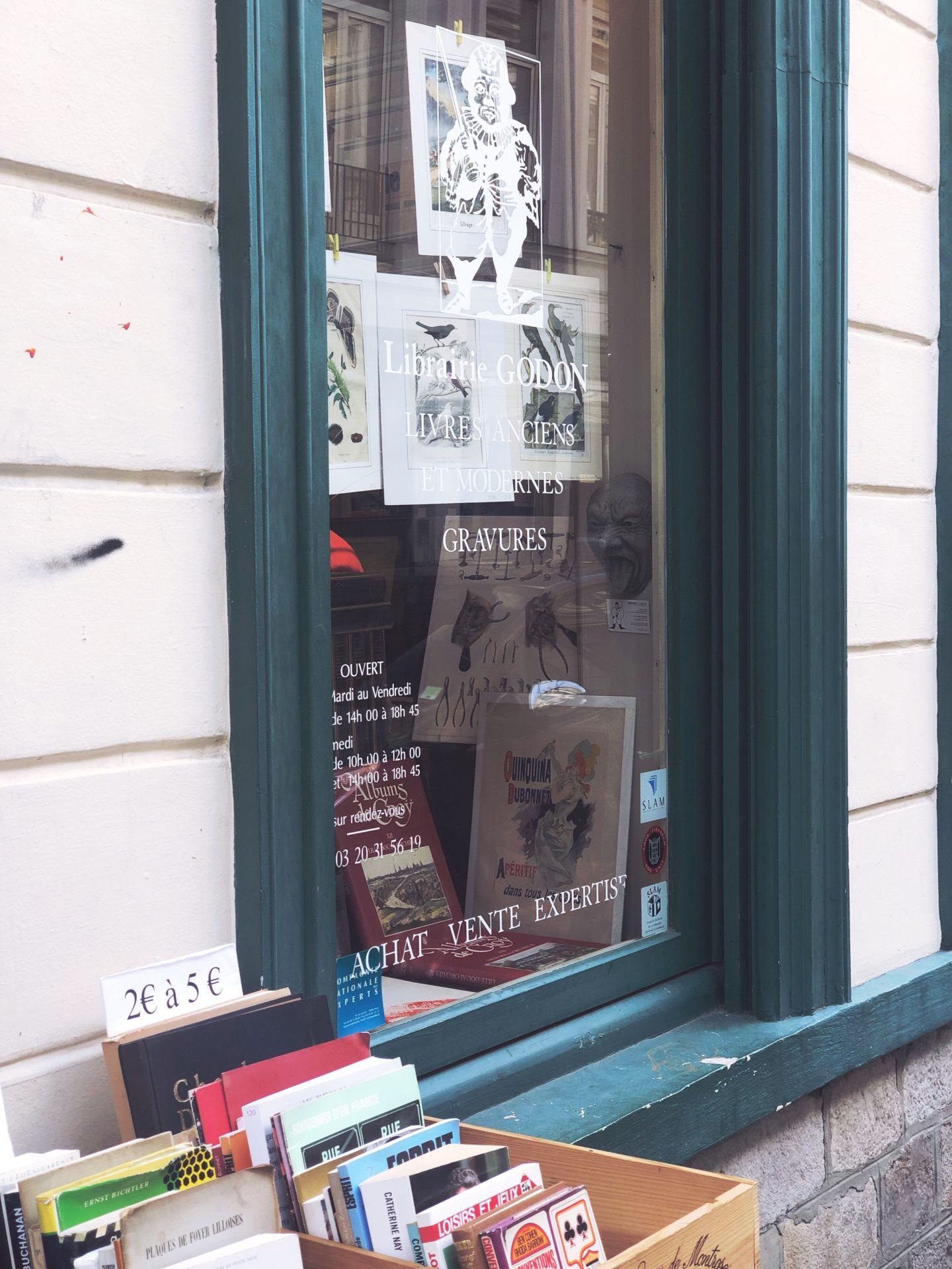 librairie vieux lille