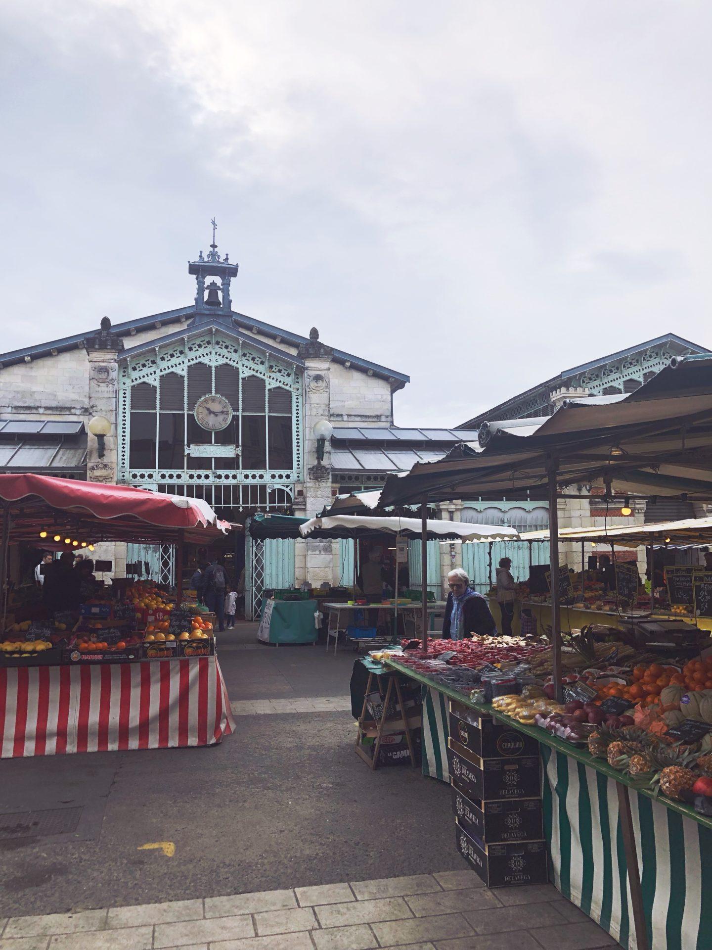 marché de la rochelle visite guidée