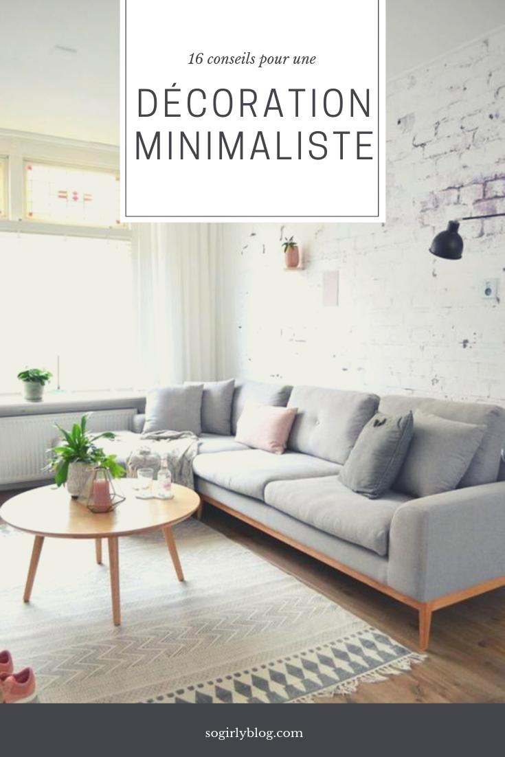Deco Salon Mur Blanc adopter la décoration minimaliste - le so girly blog