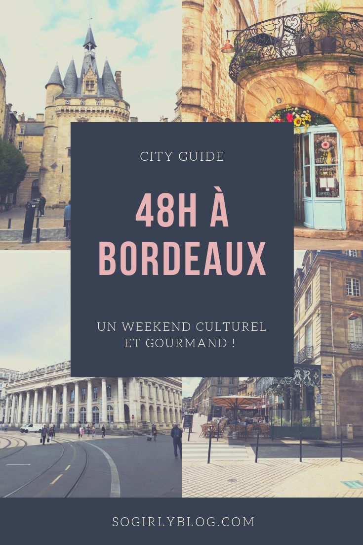 weekend à bordeaux