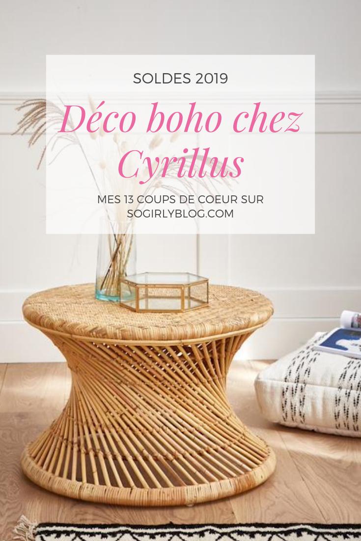 DÉCO BOHO CYRILLUS