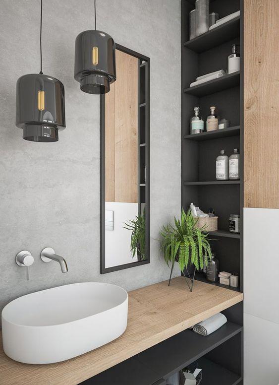 décoration salle de bains location