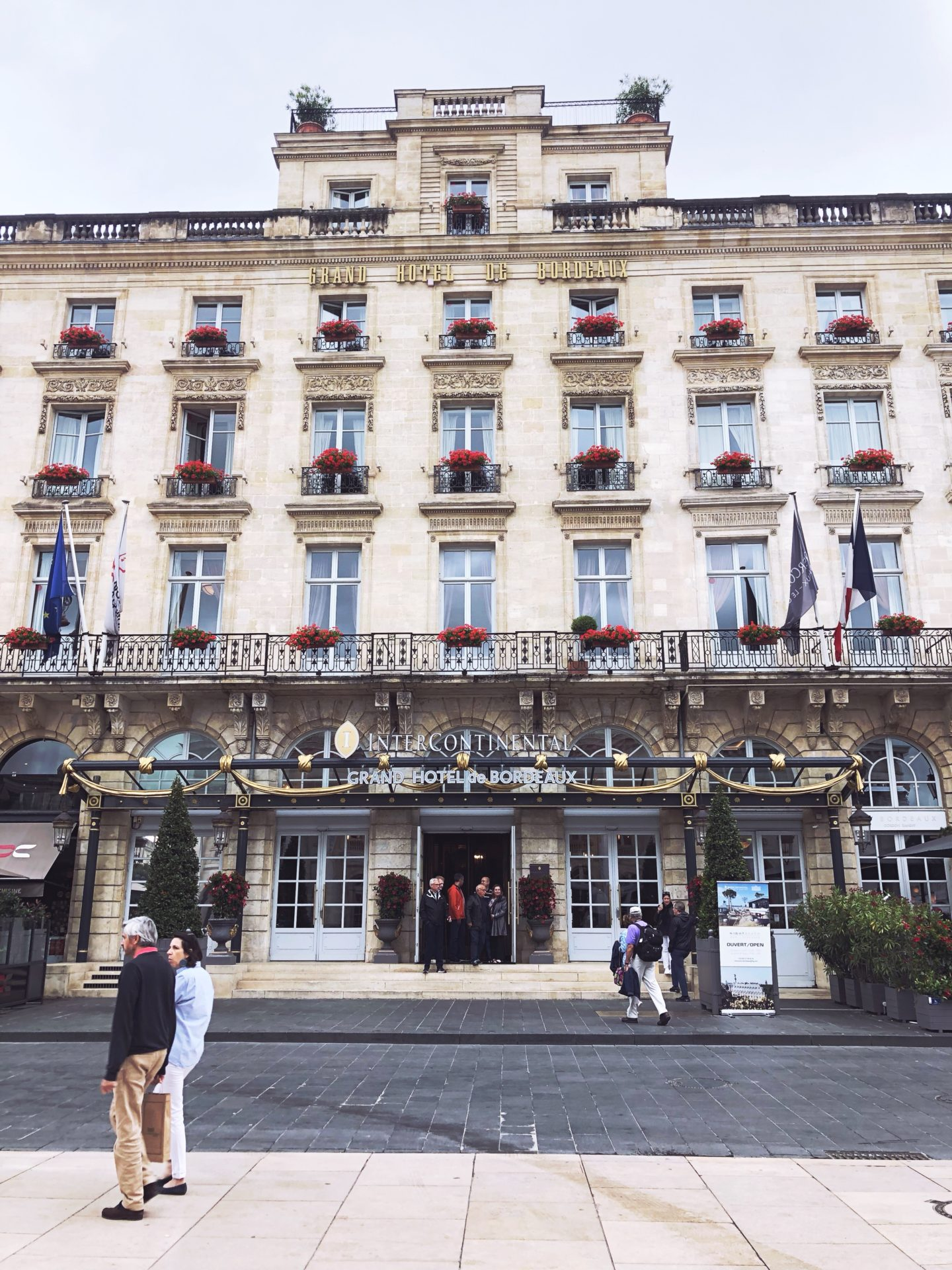 hôtel intercontinental bordeaux