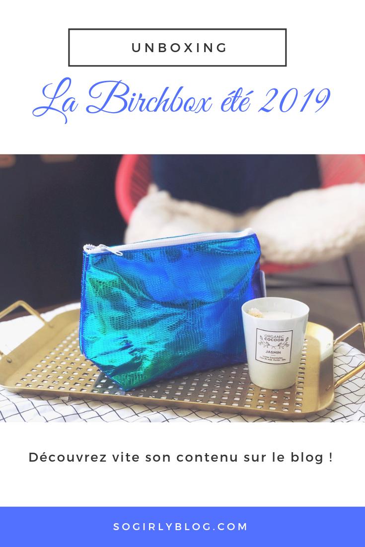 BIRCHBOX ÉTÉ 2019