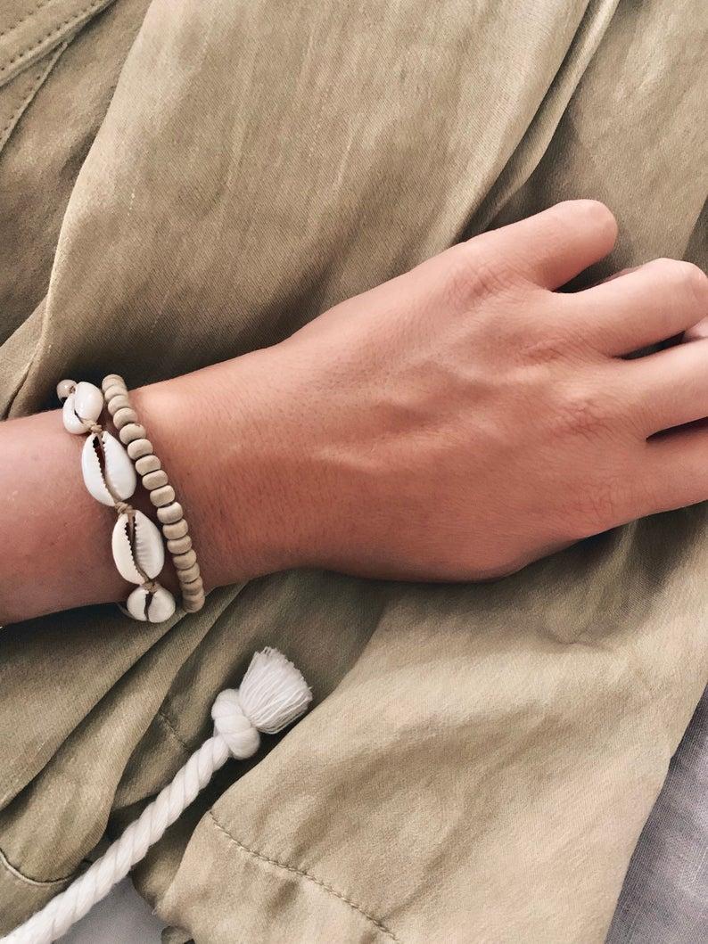 bracelet coquillage tendance rentrée 2019
