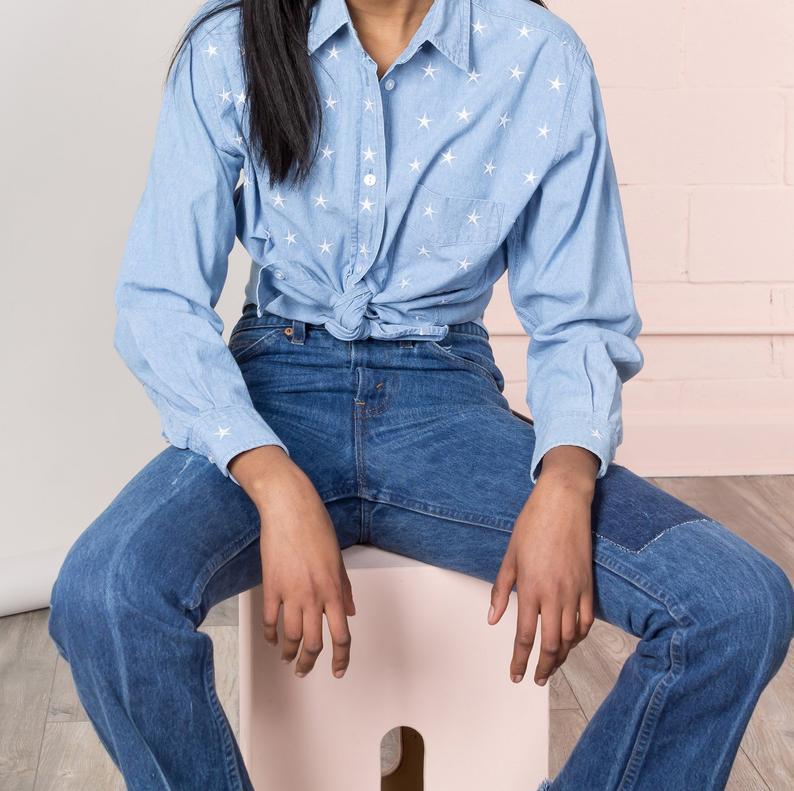 chemise en chambray tendance rentrée 2019