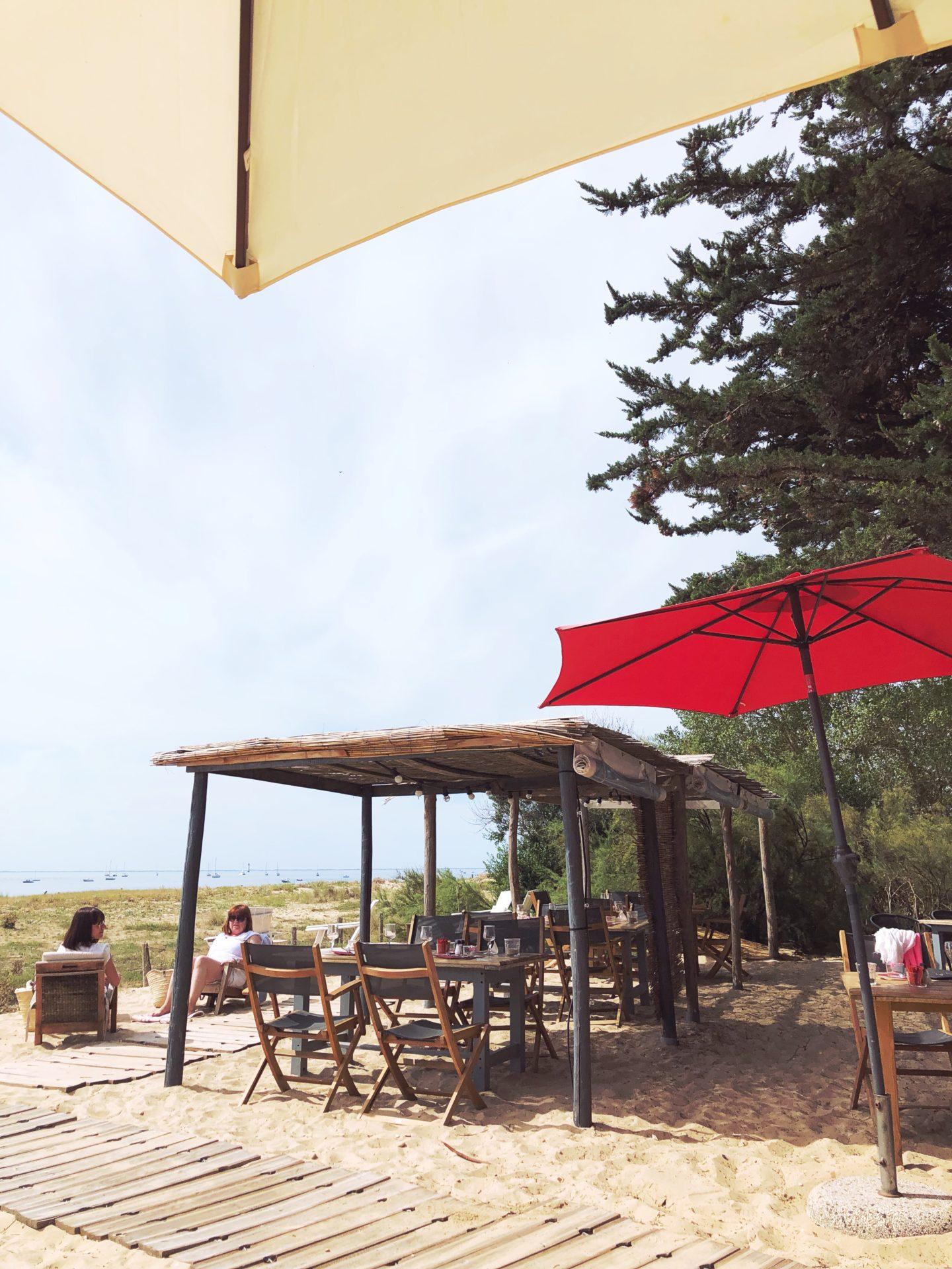 la plage ile de ré restaurant