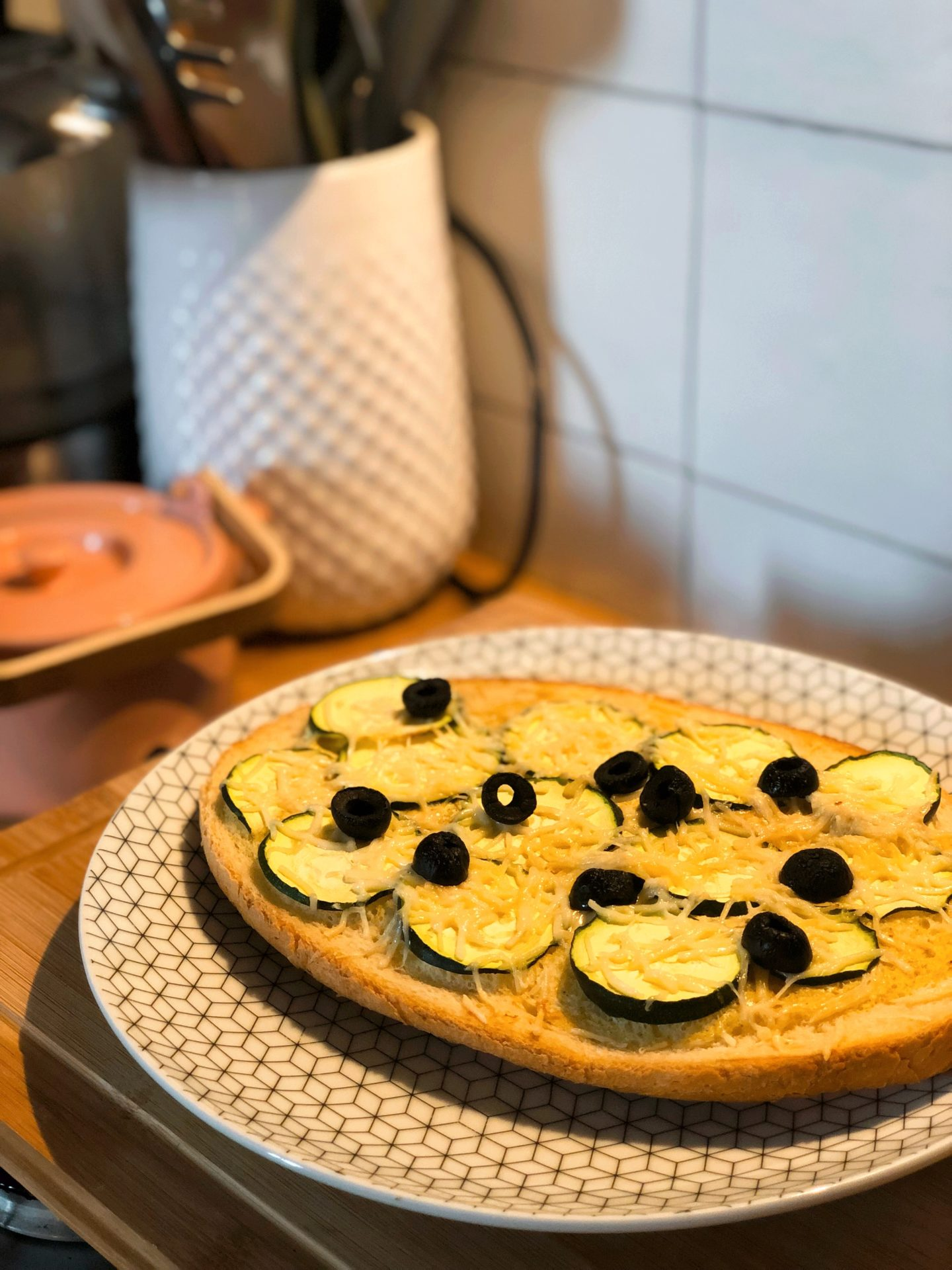 bruschetta courgettes