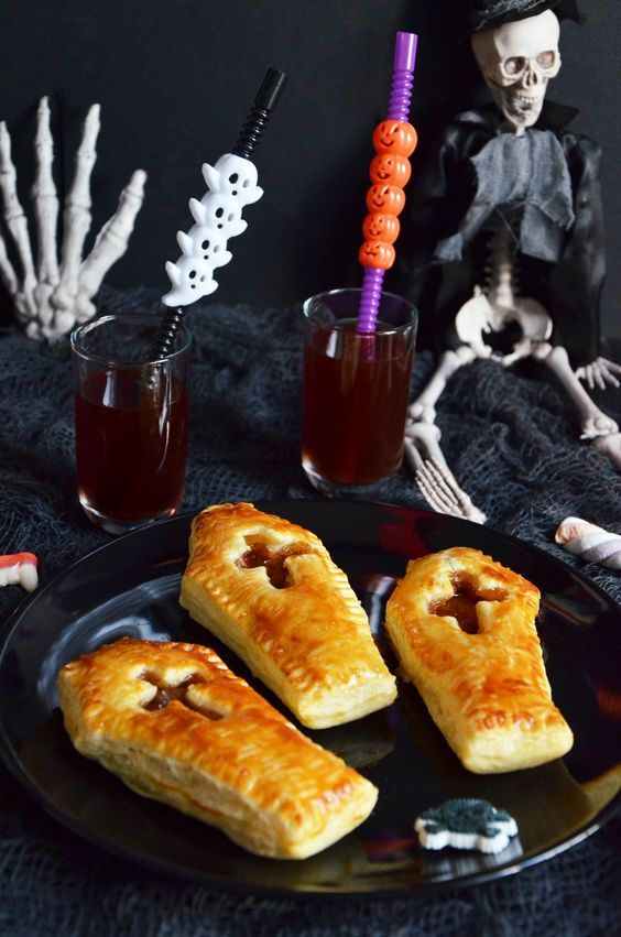 cercueils recettes d'halloween