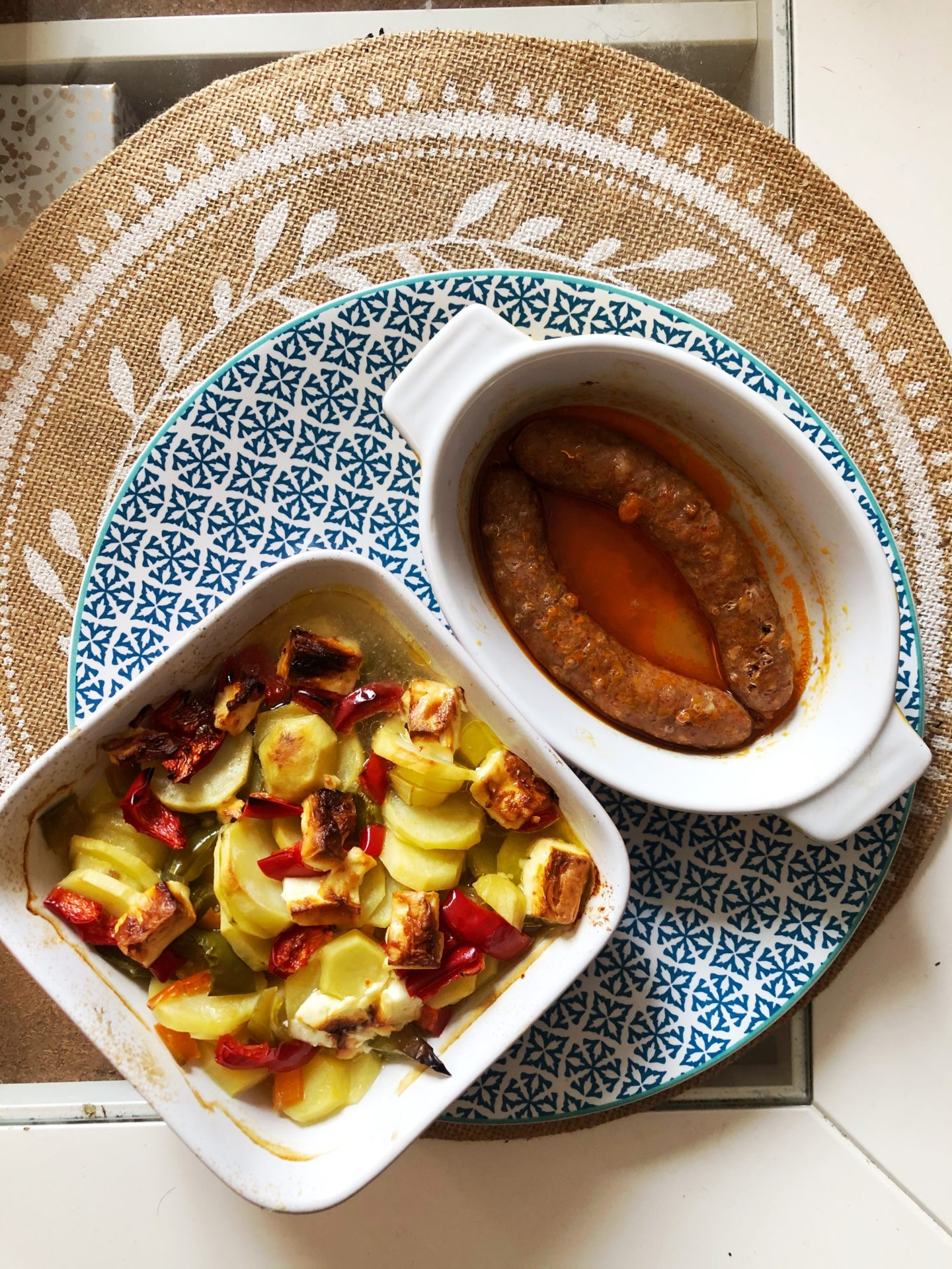 gratin pommes de terre saucisses