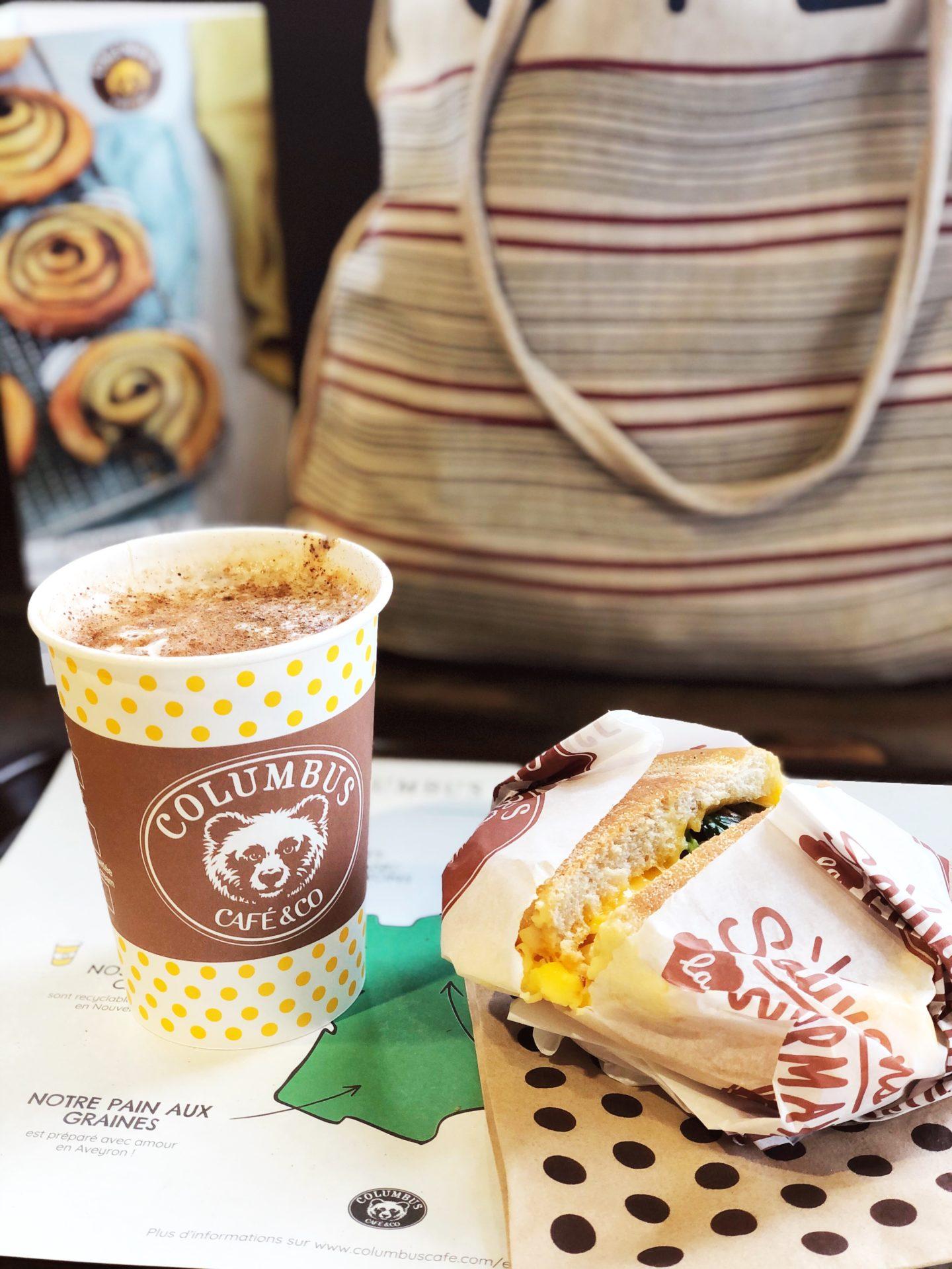 petit dejeuner columbus café