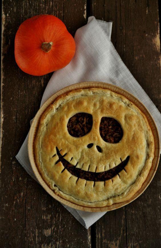 quiche effrayante halloween