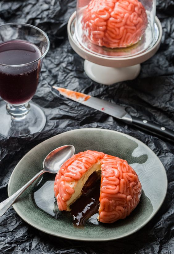 recettes halloween cerveau