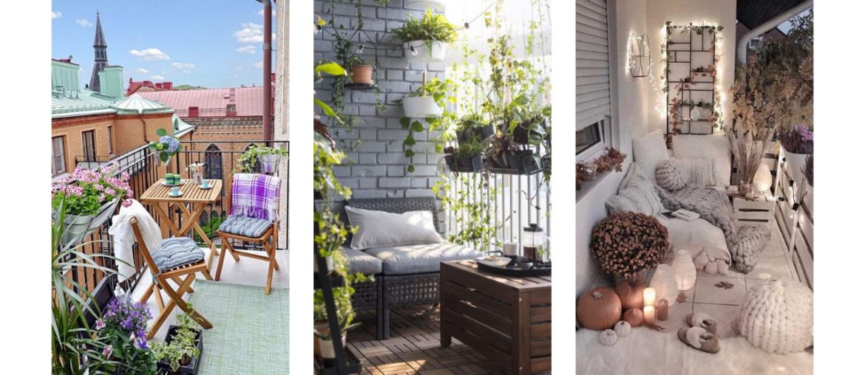 10 idées repérées sur Pinterest pour aménager un petit balcon