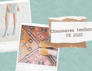 chaussures tendances printemps été 2020