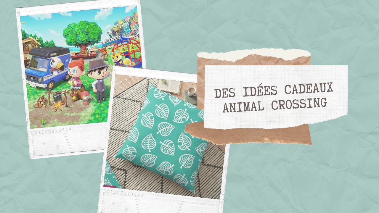 idées cadeaux animal crossing