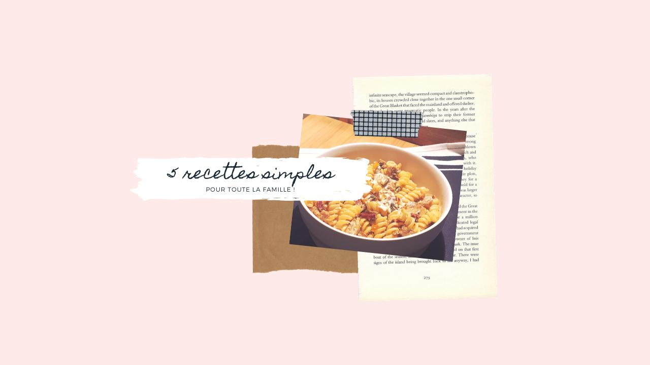 recettes simples cuisine