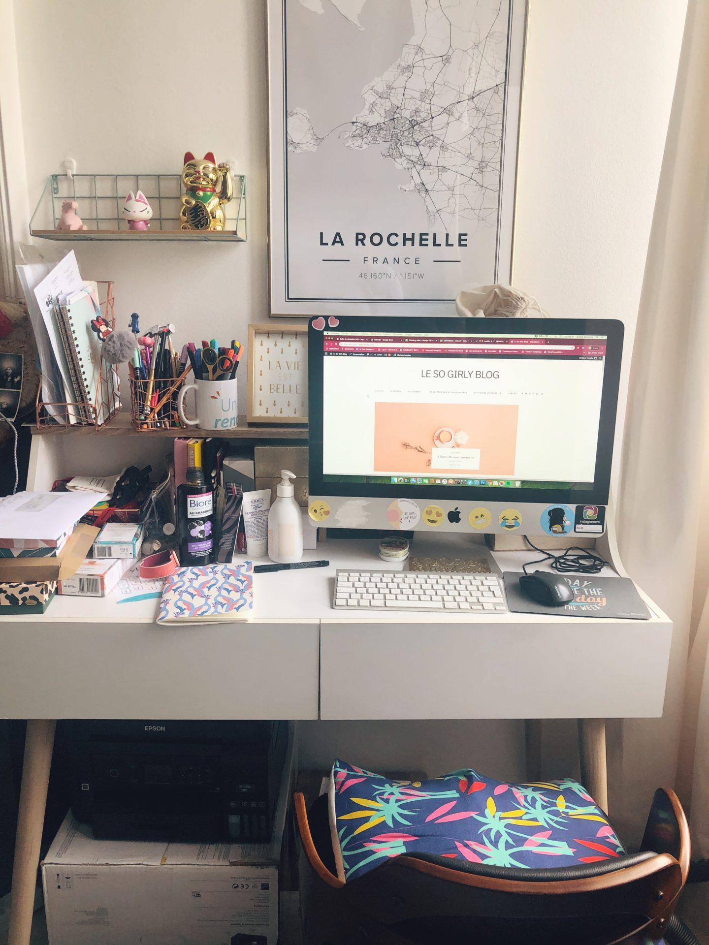Comment créer un vrai coin bureau chez soi ?