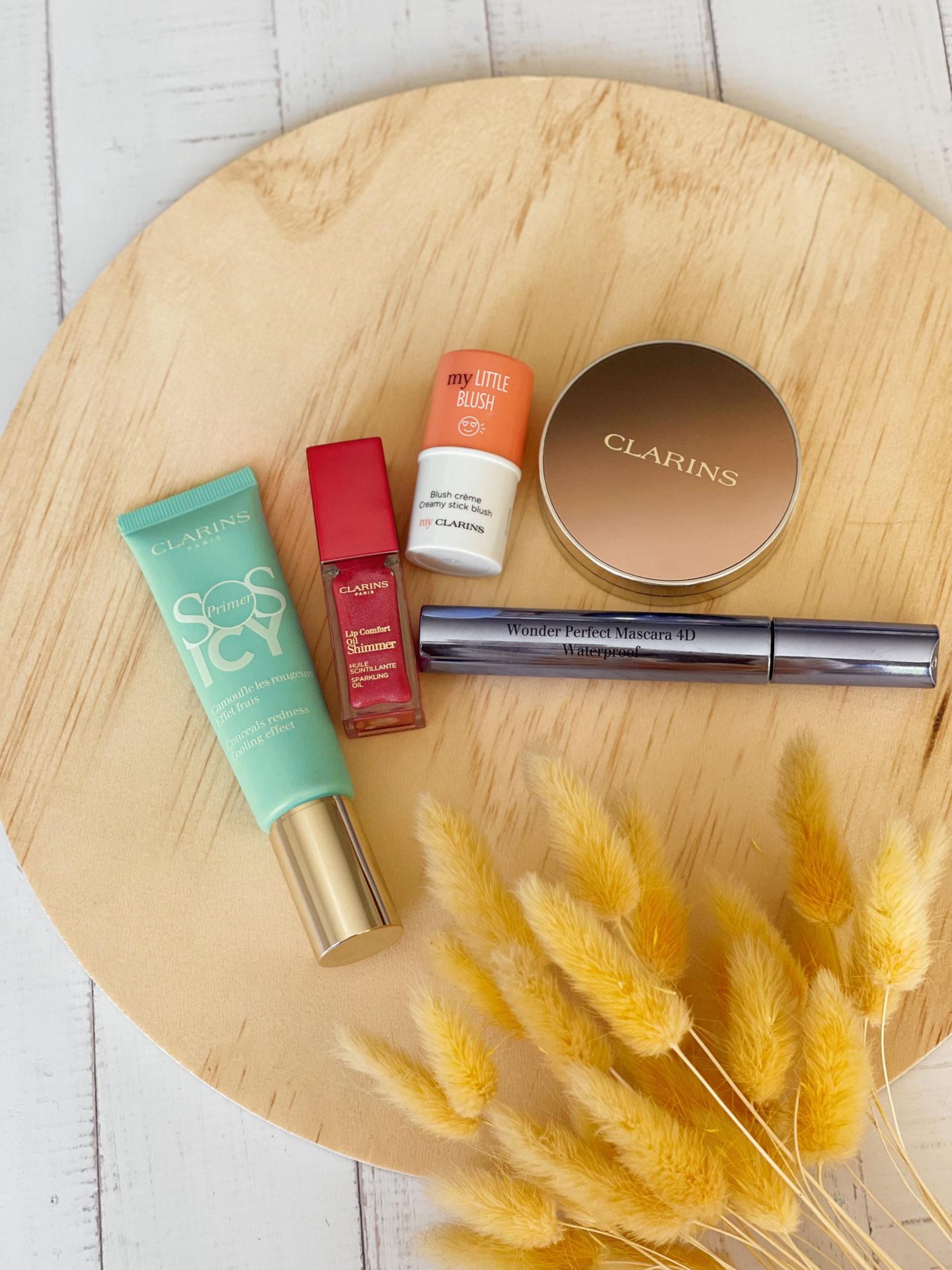 Un maquillage frais en moins d'une minute avec Clarins